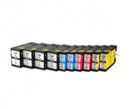 10 Compatible Ink Cartridges, Canon PGI-1500 Black 36ml + Color 11.5ml