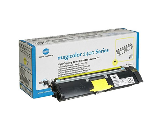 Original Toner Konica Minolta A00W132 Yellow ~ 4.500 Pages