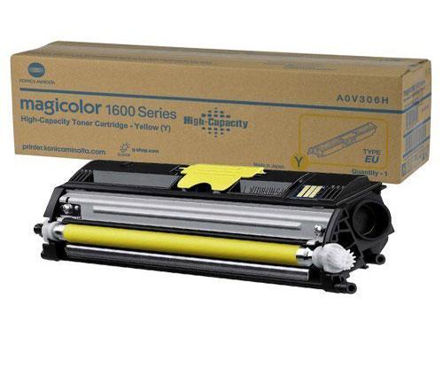 Original Toner Konica Minolta A0V306H Yellow ~ 2.500 Pages