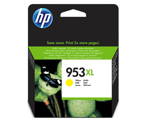 Original Ink Cartridge HP 953XL Yellow 20ml