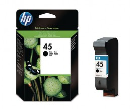 Original Ink Cartridge HP 45 Black 42ml ~ 930 Pages
