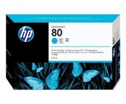 Original Print Head HP 80 Cyan plus Cleaning device