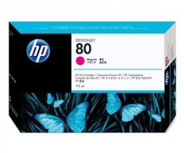 Original Print Head HP 80 Magenta plus Cleaning device