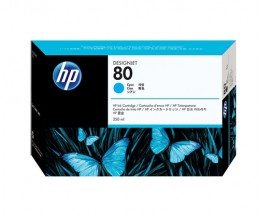 Original Ink Cartridge HP 80 Cyan 350ml ~ 4.400 Pages