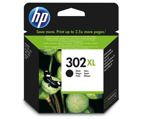 Original Ink Cartridge HP 302 XL Black 8,5ml ~ 480 Pages
