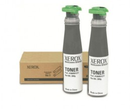 2 Original Toners, Xerox 106R01277 Black ~ 6.300 Pages