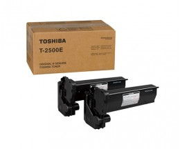 2 Original Toners, Toshiba T 2500 E Black ~ 7.500 Pages