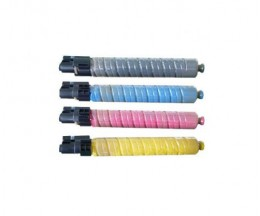 4 Compatible Toners, Ricoh 88864X Black + Color ~ 20.000 / 15.000 Pages