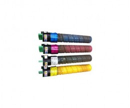 4 Compatible Toners, Ricoh 84112X Black + Color ~ 20.000 / 16.000 Pages