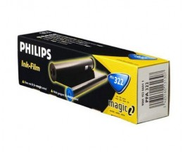 Original Thermal transfer roll Philips PFA322 Black ~ 150 Pages