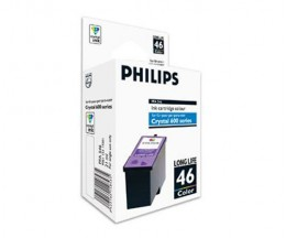 Original Ink Cartridge Philips PFA546 / 46 Color ~ 1.000 Pages
