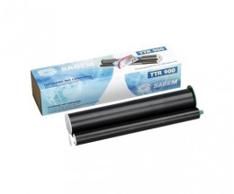 Original Thermal transfer roll Sagem TTR 900 Black ~ 140 Pages