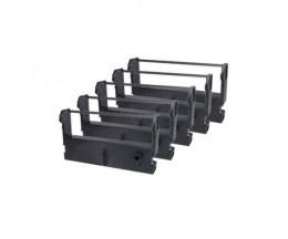 5 Compatible Tapes, Epson ERC-39BK Black