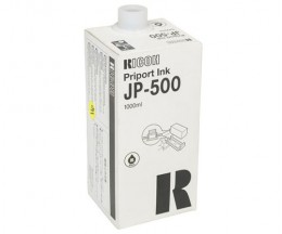 6 Original Ink Cartridges, Ricoh 817155 Black 1000ml