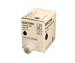 5 Original Ink Cartridges, Ricoh 893188 Black 600ml