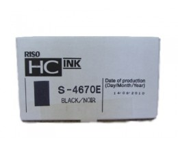 Original Ink Cartridge Riso S4670E Black 1000ml