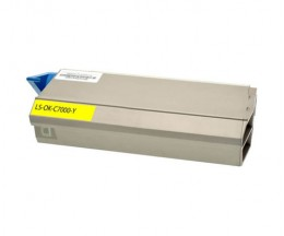 Compatible Toner OKI 41963005 Yellow ~ 10.000 Pages