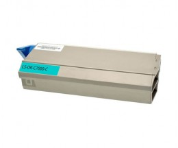 Compatible Toner OKI 41963007 Cyan ~ 10.000 Pages