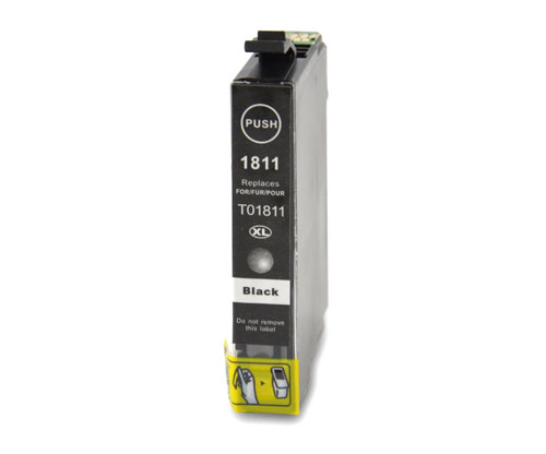 Compatible Ink Cartridge Epson T1801 / T1811 / 18 XL Black 17ml
