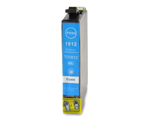 Compatible Ink Cartridge Epson T1802 / T1812 / 18 XL Cyan 13ml