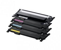 4 Compatible Toners, Samsung 406S Black + Color ~ 1.500 / 1.000 Pages