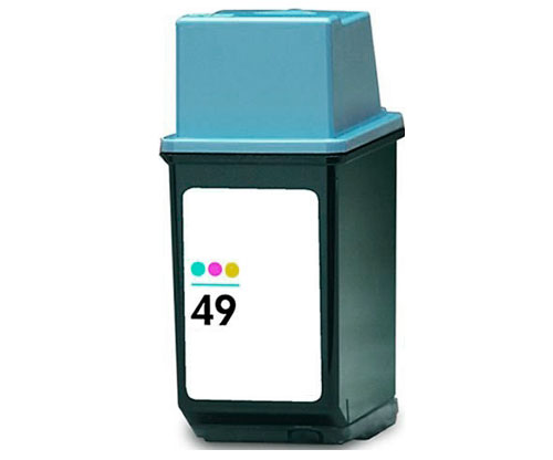Compatible Ink Cartridge HP 49 Color 21ml