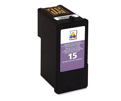 Compatible Ink Cartridge Lexmark 15 Color 15ml