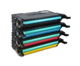 4 Compatible Toners, Samsung 660B Black + Color ~ 5.000 Pages