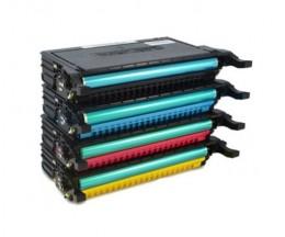 4 Compatible Toners, Samsung 6092S Black + Color ~ 7.000 Pages