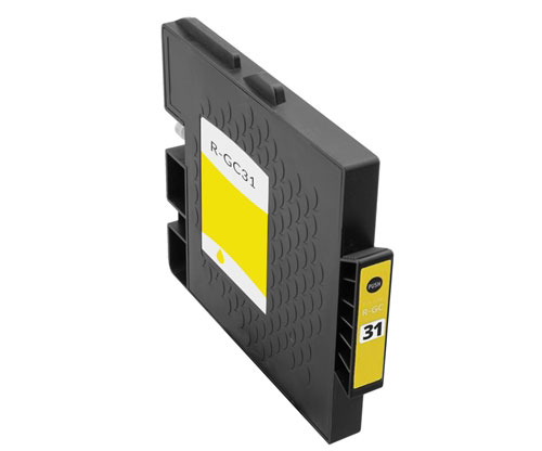 Compatible Ink Cartridge Ricoh GC-31 / GC-31 XXL Yellow 64ml