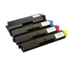 4 Compatible Toners, Olivetti P2021 Black + Color ~ 3.500 / 2.800 Pages