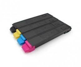 4 Compatible Toners, Kyocera TK 895 Black + Color ~ 12.000 / 6.000 Pages
