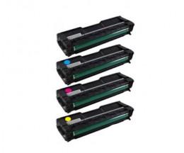 4 Compatible Toners, Ricoh 40605X Black + Color ~ 2.000 Pages
