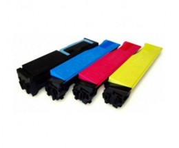 4 Compatible Toners, Utax 3521 Black + Color ~ 5.000 / 4.000 Pages