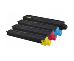 4 Compatible Toners, Utax 5520 Black + Color ~ 12.000 / 6.000 Pages