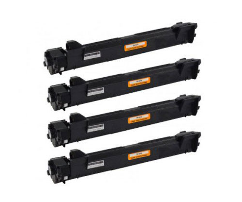 4 Compatible Toners, Brother TN-1050 Black ~ 1.000 Pages