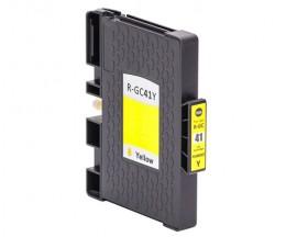 Compatible Ink Cartridge Ricoh GC-41 / GC-41 XXL Yellow 22ml