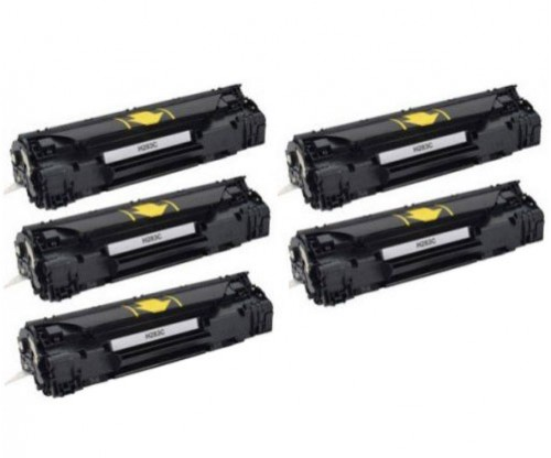 5 Compatible Toners, HP 83A Black ~ 1.500 Pages
