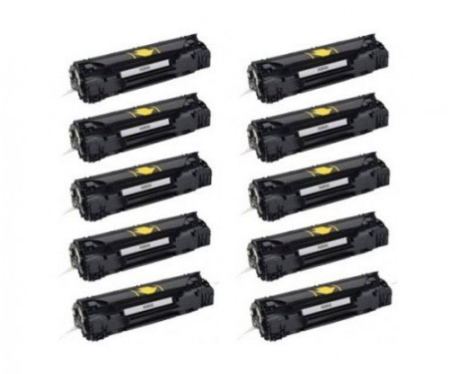 10 Compatible Toners, HP 83A Black ~ 1.500 Pages