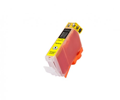 Compatible Ink Cartridge Canon BCI-6 Y Yellow 13.4ml