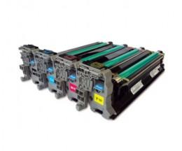 4 Compatible Drums, Konica Minolta A0310XH Black + Color ~ 30.000 Pages