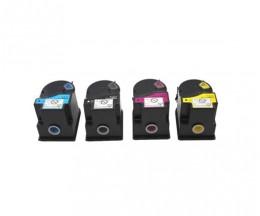 4 Compatible Toners, Konica Minolta TN-310 Black + Color ~ 11.500 Pages