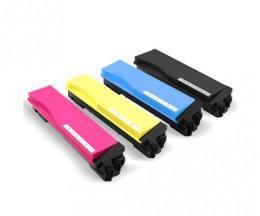 4 Compatible Toners, Kyocera TK 560 Black + Color ~ 12.000 / 10.000 Pages