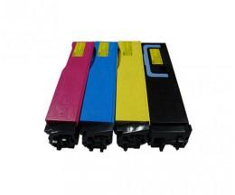 4 Compatible Toners, Kyocera TK 550 Black + Color ~ 7.000 / 6.000 Pages