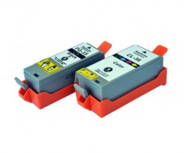 2 Compatible Ink Cartridges, Canon PGI-35 / CLI-36 Black 9ml + Color 11.8ml
