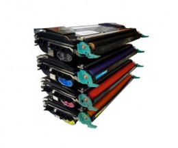 4 Compatible Toners, Lexmark C5220 ~ 3.000 Pages