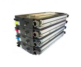 4 Compatible Toners, Lexmark C500H2 ~ 5.000 / 3.000 Pages