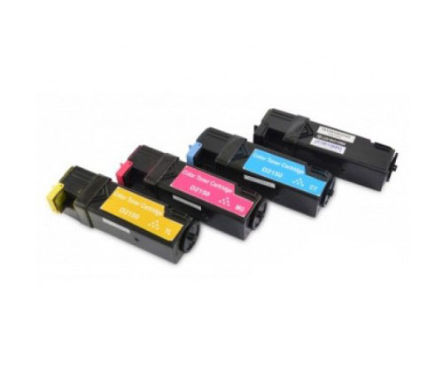 4 Compatible Toners, DELL 5931103X Black + Color ~ 3.000 / 2.500 Pages