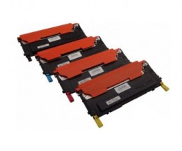 4 Compatible Toners, Dell 5931049X Black + Color ~ 1.500 / 1.000 Pages