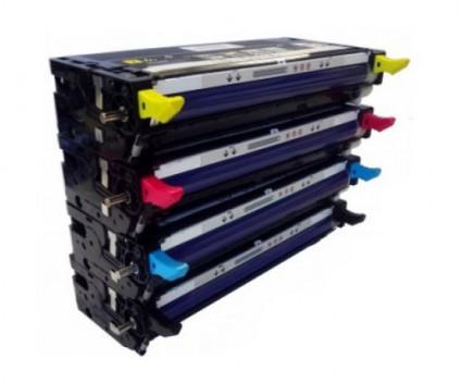 4 Compatible Toners, DELL 5931029X Black + Color ~ 9.000 Pages